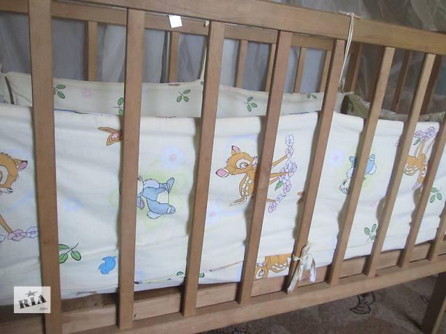 продам Детская кроватка с матрасом  бу в Сумах