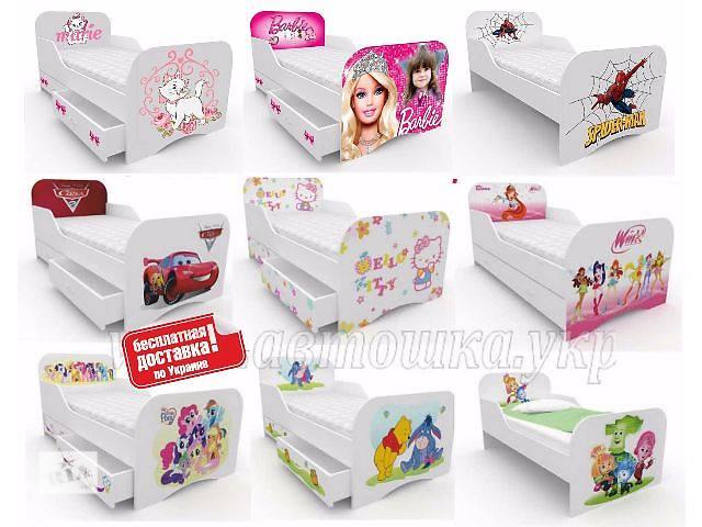 продам Детская кровать Хелло Китти, Винкс, Винни Пух, Микки Маус, Тачки с бесплатной доставкой бу в Львове