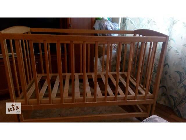 купить бу Детская кроватка в Черкассах