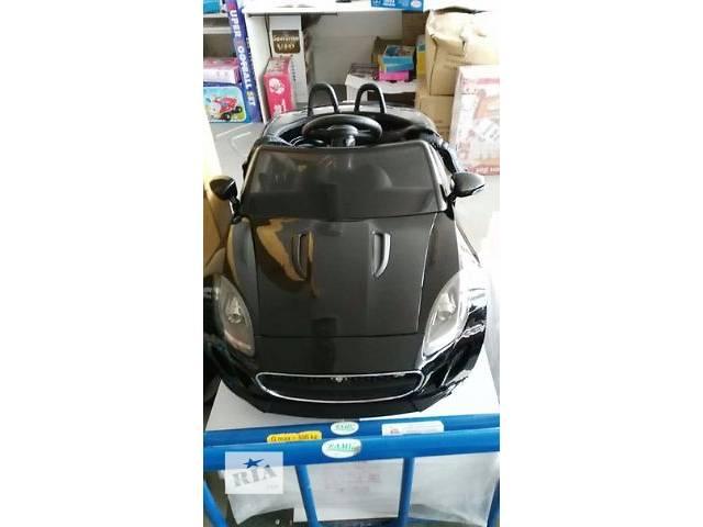 продам Детская машина на аккумуляторе DMD 218 RS-2 JAGUAR (цвет чёрный) Авто краска бу в Львове