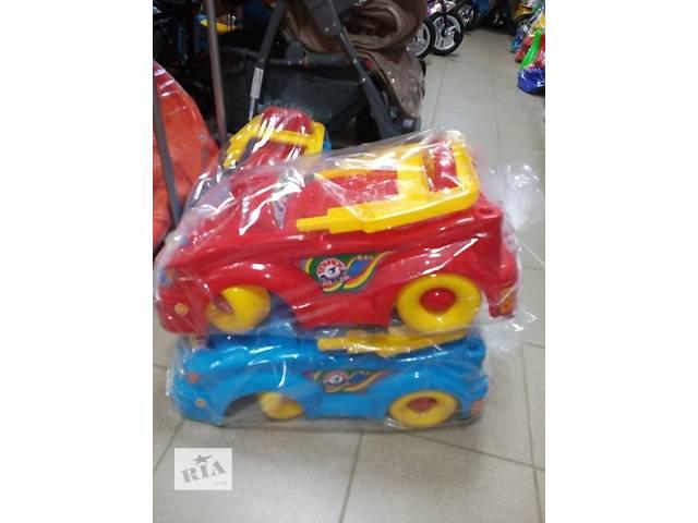 купить бу Детская машинка каталка Технок в Ивано-Франковске