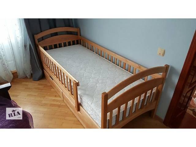 Детская односпальная кровать Карина с бортиками защиты!- объявление о продаже  в Киеве
