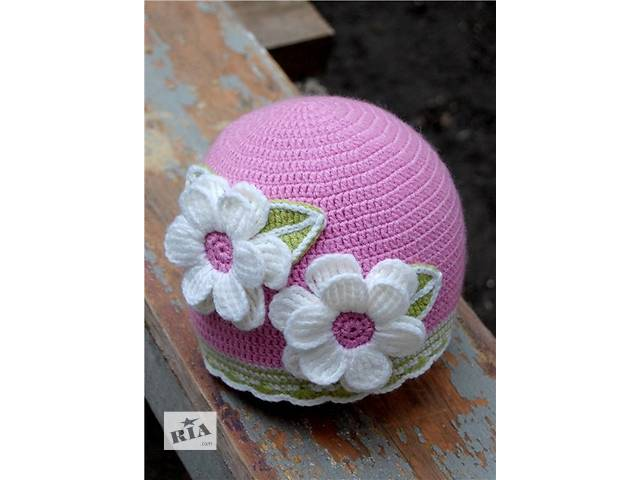 Детская шапочка для девочки- объявление о продаже  в Черкассах