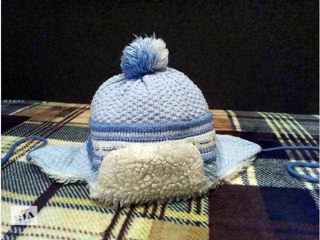 бу Детская шапочка на холодную осень-теплую зиму. Когда мы покупали - не пожалели! Посмотрите сами. в Краматорске