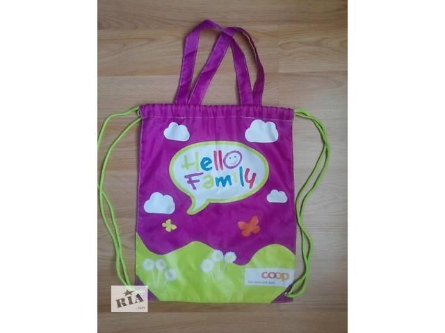 купить бу Детская сумка рюкзак для обуви Coop в Луцке