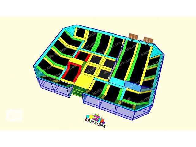продам Детская игровая комната лабиринт,батуты,батутные арены,батутный комплекс, поролоновая  яма, тарзанка, скалодром,  бу в Днепре (Днепропетровске)