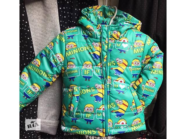 купить бу Детская зимняя куртка Миньон на овчине оптом в Одессе