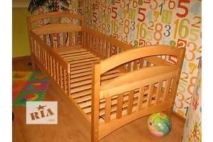 Детская деревянная одноярусная кроватка!