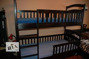 Детская двухъярусная кровать Карина-Люкс усиленная со всеми съемными бортиками!