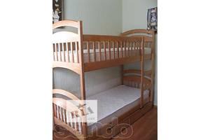 Детская двухъярусная кровать Карина с защитными бортиками