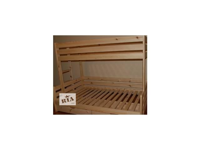 купить бу Детская двухъярусная кровать «Ягнятко» с ящиком в Киеве