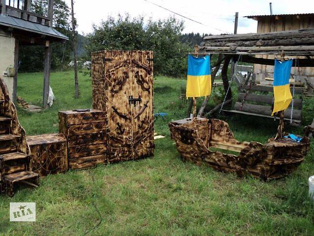 купить бу детская комната в морском пиратском стиле в Киеве