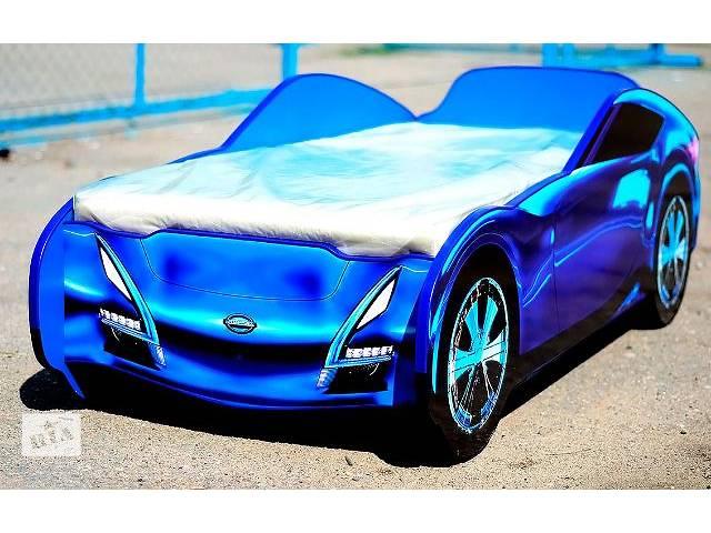 купить бу Детская кровать-машина Nissan(синий) в Киеве