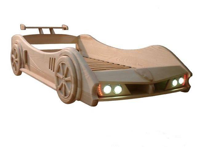 продам Детская кровать машина Феррари из смерекы карпатской бу в Киеве