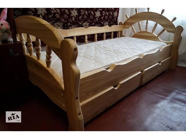 продам Детская кровать с дерева ясеня Бриз! бу в Киеве