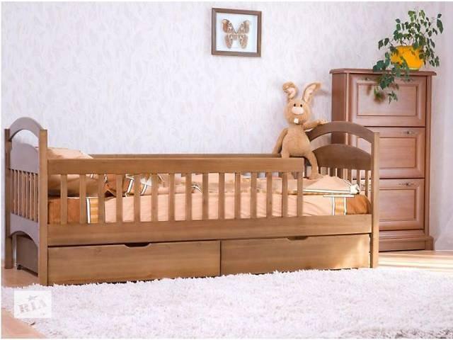 Детская одноярусная кроватка Карина с ольхи.- объявление о продаже  в Киеве