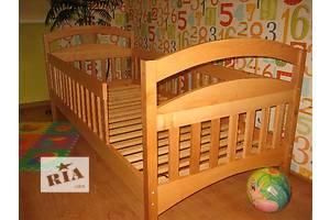 Детская одноярусная кроватка с дерева от производителя!