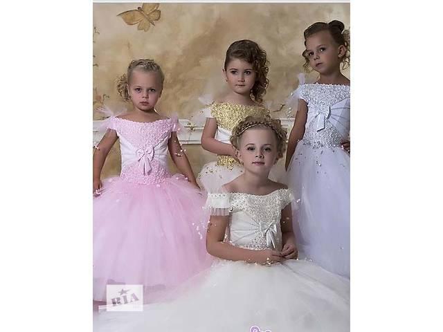 Детское нарядное платье, айвори, 38, новое- объявление о продаже  в Киеве