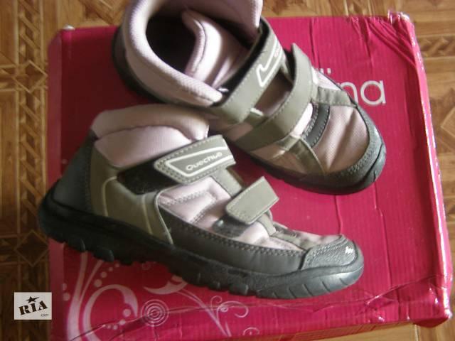 бу Детские ботиночки Quechua 32р в Ромнах