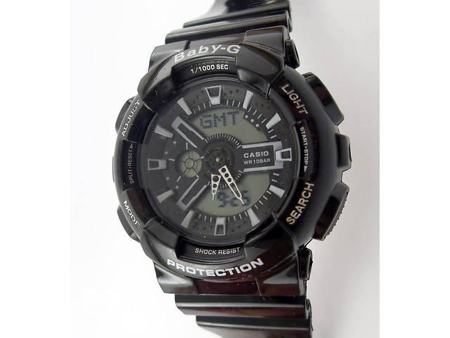 продам Детские часы Casio Baby G BA-110 012525 черные желтые разные цвета водонепроницаемые бу в Харькове
