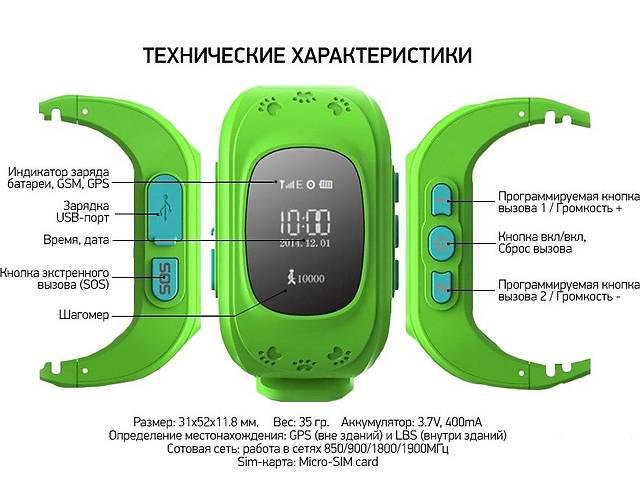 бу Детские часы с GPS маячком в Харькове