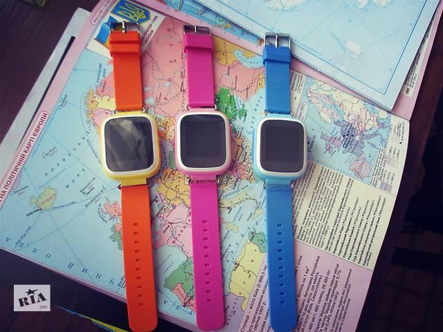 Детские часы с GPS-трекером Q60,Q60s,Q80! Оригинал Гарантия 12 месяцев- объявление о продаже  в Киеве