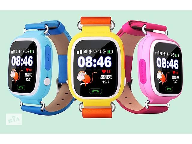 продам Подарок ребенку Умные часы GPS детские Smart Baby Watch Q90 ОРИГИНАЛ + Подарок бу в Киеве