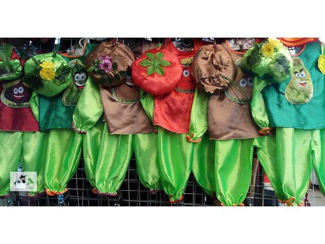 купить бу Детские костюмы Овощей и Осени к Празднику Осени,возраст 2-6 лет в Киеве