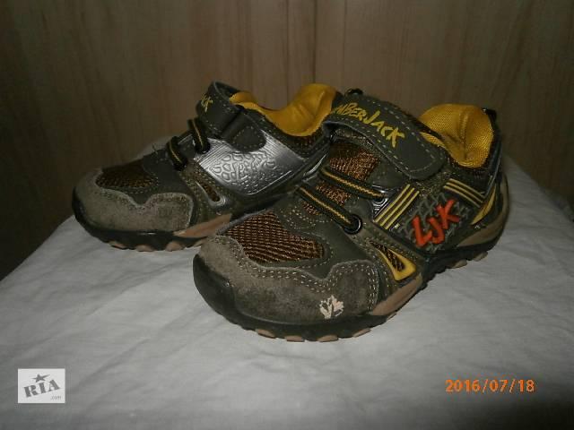 продам Детские кожаные кроссовки 23-25 размера бу в Киеве