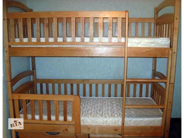 купить бу детские Двухъярусные кровати напрямую от мебельной Фабрики, в Одессе