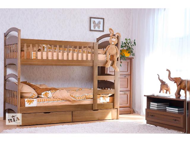 купить бу детские кровати Карина ,Карина Люкс из натурального дерева Ольха по цене Фабрики мебели в Одессе