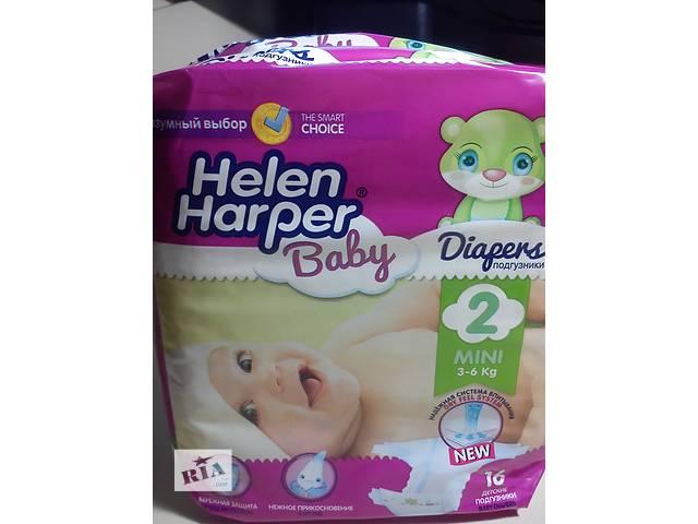"""продам Детские подгузники """" helen harper 2"""", количество в упаковке 16 штук. вес 3-6 кг. бу в Донецке"""