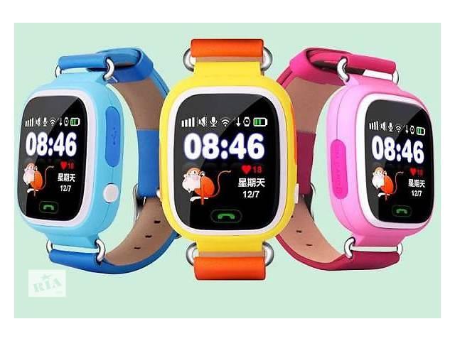 продам Детские умные часы Q100 - Сенсорные бу в Львове