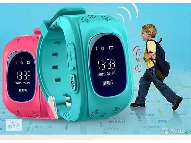 купить бу Детские умные часы с GPS+прослушка. в Харькове