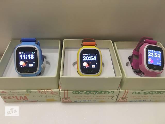 бу Детские умные часы smart watch baby watch Q90 Q100 Оригинал,голограмма в Киеве