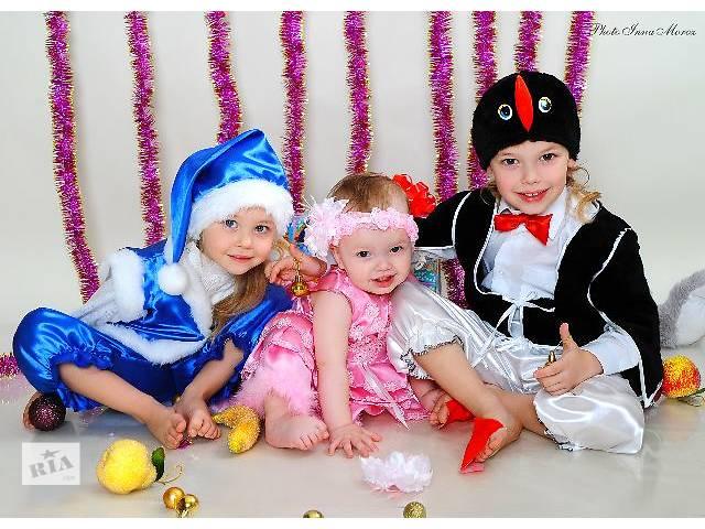 купить бу Детские карнавальные костюмы новый,маски,парики,шляпы,костюмы зверюшек,сказочные персонажи,бороды,новогодние костюмы. в Киеве