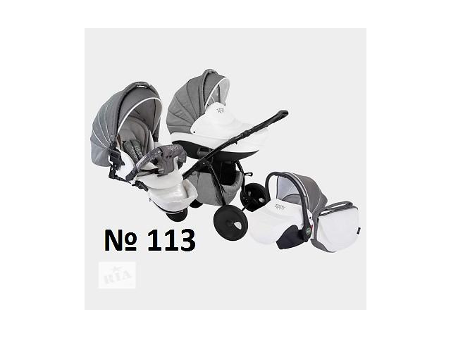 купить бу Детские коляски TUTIS Zippy NEW Silver Plus (Тутис Зиппи Нью Сильвер Плюс) 2в1, 3в1 в Киеве