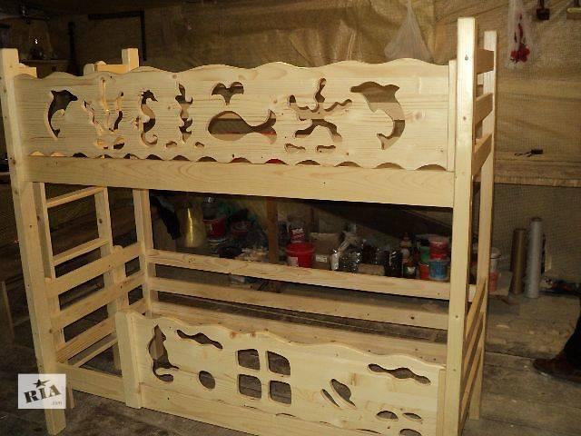 бу Детские кроватки Двухъярусные детские кровати новый яремче мебель в Киеве