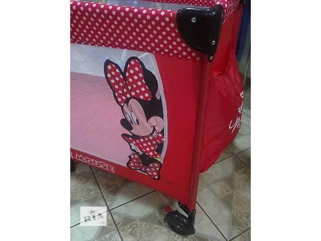 продам Детские манежи новый Манеж кровать игровая для детей в ассортименте бу в Днепре (Днепропетровске)