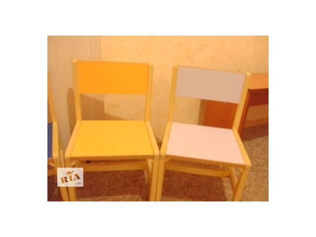 Детские стулья стулья в детский сад новый Украина- объявление о продаже  в Днепре (Днепропетровске)
