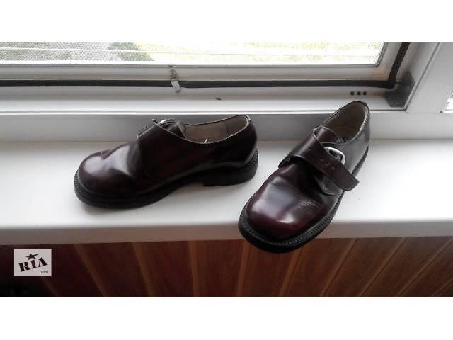 Детские туфли Детские туфли для мальчиков 32 б/у- объявление о продаже  в Хмельницком