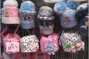 Детские весенние шапочки от рождения до 3 лет