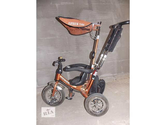 продам Детский 3-ох колесный велосипед с ручкой Lexus Trike бу в Старой Выжевке