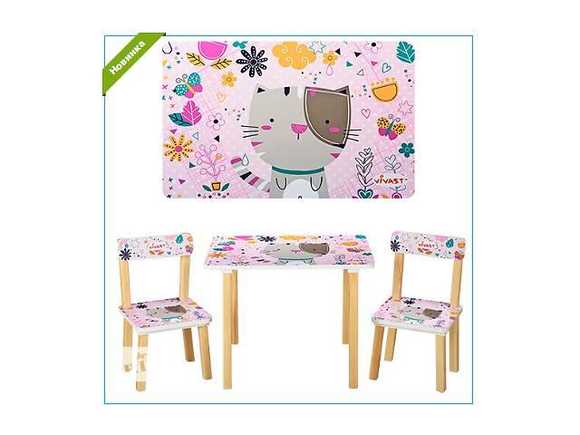 Детский деревянный набор столик со стульчиками Vivast 501-14 - объявление о продаже  в Ровно