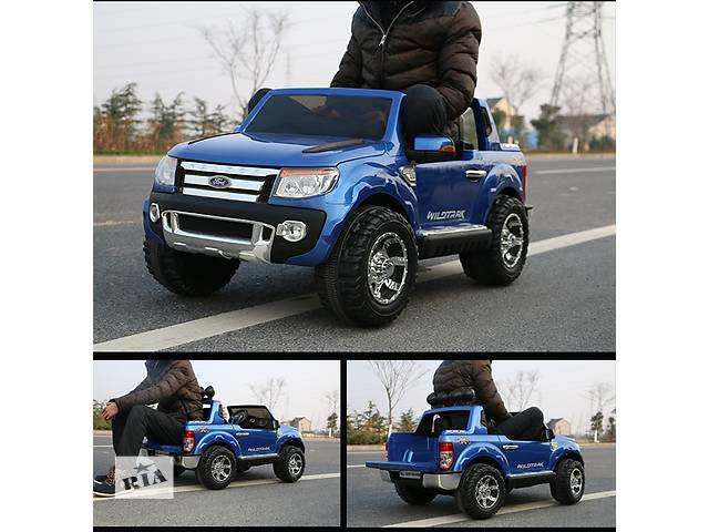 Детский двухместный электромобиль ДЖИП FORD RANGER F-150 на EVA колесах лакированный- объявление о продаже  в Днепре (Днепропетровск)