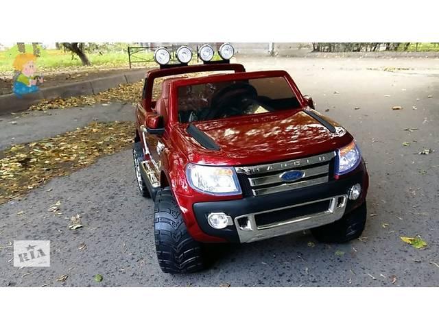 продам Детский двухместный электромобиль Ford Ranger F-150 автопокраска бу в Днепре (Днепропетровск)