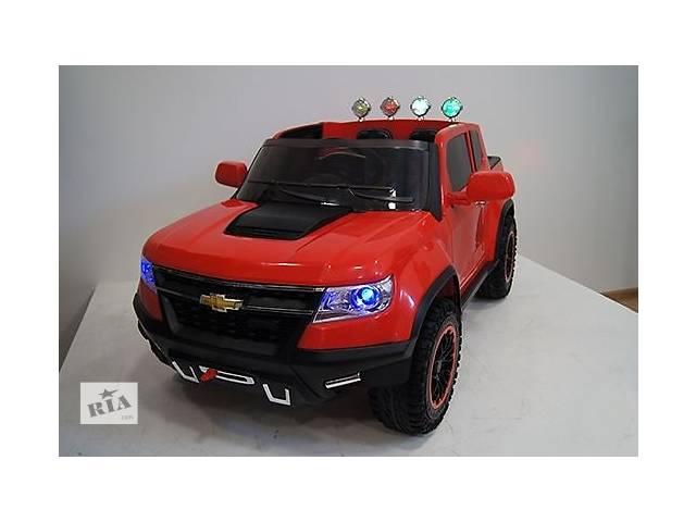 бу Детский джип Chevy Colorado FT 1602, резиновые колеса,р\у 2.4G, 9 км/ч в Днепре (Днепропетровск)
