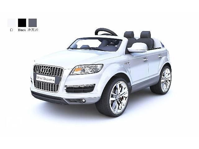 купить бу Детский электромобиль Audi Q7 Белый в Кривом Роге (Днепропетровской обл.)