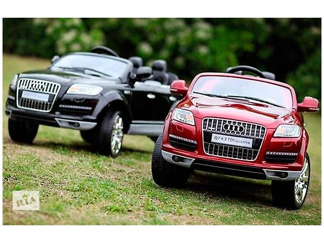 бу Детский электромобиль Audi Q7 мягкие колеса в Кривом Роге