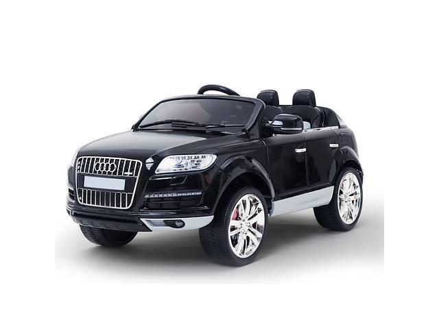 купить бу Детский электромобиль Audi Q7 Quattro: EVA, лицензия, BLACK в Львове